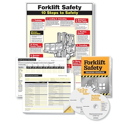 ComplyRight Forklift Training Compliance Bundle English (W0862)