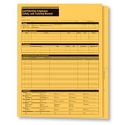ComplyRight™ Employee Safety and Training Records Folder, Pack of 25 (A2210)