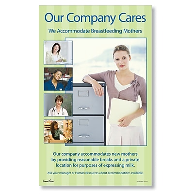 ComplyRight Breastfeeding At Work Poster, 10x16 (A1179)