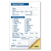 ComplyRight Absence Report, Compact 2-Part, Pack of 50 (A2151)