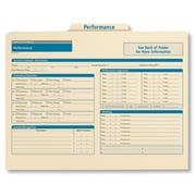 ComplyRight Employee Performance Records Organizer, Pack of 25 (A0312)