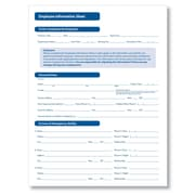 ComplyRight Employee Information Sheet, Pack of 50 (A2161)