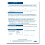 ComplyRight New Hire EEO-1 Data Sheet, Pack of 50 (A2201)