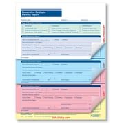 ComplyRight Consecutive Employee Warning Report, 4-Part, Pack of 50 (A2187)