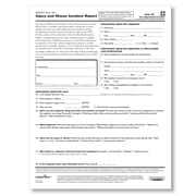 ComplyRight OSHA Form 301, Pack of 25 (W0282)
