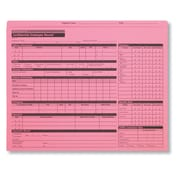ComplyRight Personnel Pocket File Pink Folder, Pack of 25 (A0781)