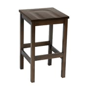 "KFI Eastwood Collection 30"" Counter Height Stool Walnut BR4200-WL"
