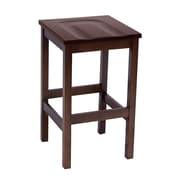 "KFI Eastwood Collection 30"" Counter Height Stool Mahogany BR4200-MH"
