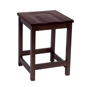 "KFI Eastwood Collection 24"" Counter Height Stool Mahogany CT4200-MH"