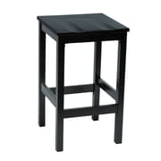 "KFI Eastwood Collection 30"" Counter Height Stool Black BR4200-BK"