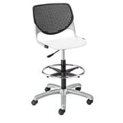 """KFI Kool Collection 23.5"""" to 35.5"""" Seat Height Black & white DS2300-BP10SP08"""