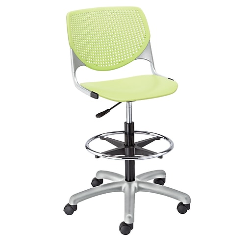 """KFI Kool Collection 23.5"""" to 33.5"""" Seat Height Lime Green DS2300-P14"""
