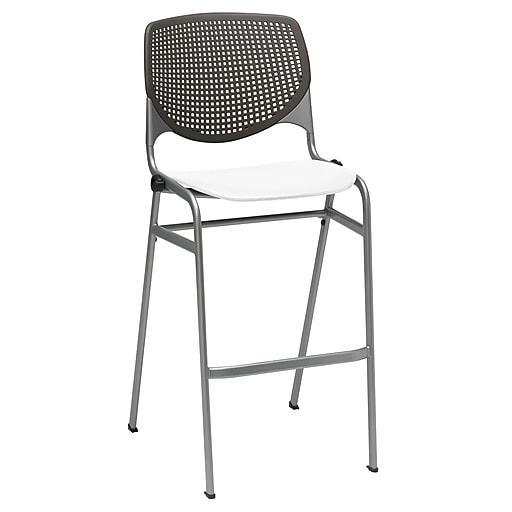 "KFI Kool Collection 30"" Seat Brownstone & white BR2300-BP18SP08"