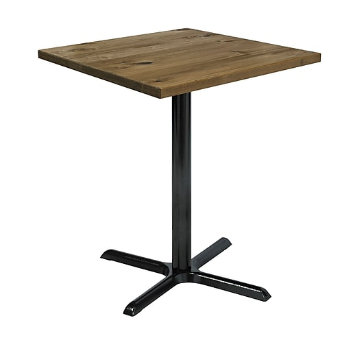 "KFI 30"" Square Wood Bar Height Natural (30S-201538LFTNA)"