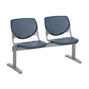 KFI 2300BEAM2-P03 KOOL Collection Navy 2 Seat Beam