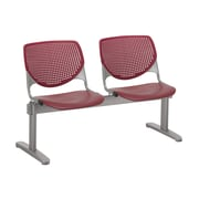 KFI 2300BEAM2-P07 KOOL Collection Burgundy 2 Seat Beam