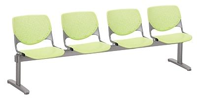 KFI 2300BEAM4-P14 KOOL Collection Lime Green 4 Seat Beam