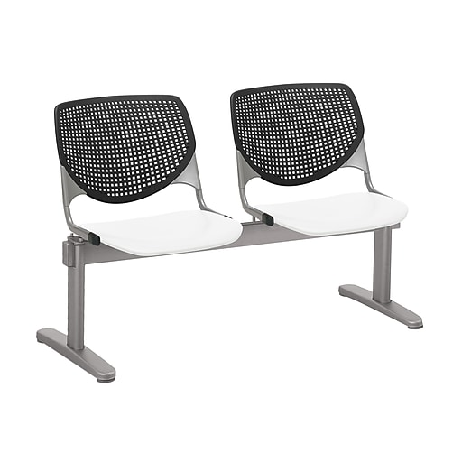 KFI 2300BEAM2B10S08 KOOL Collection Black & White  2 Seat Beam