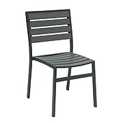 NRS. (2-1-17)  KFI, 5600-GY, Eveleen Collection, Outdoor seating, Armless, Grey