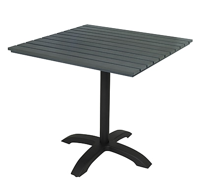 KFI TSY32S1900GY Eveleen Collection Outdoor Table Grey