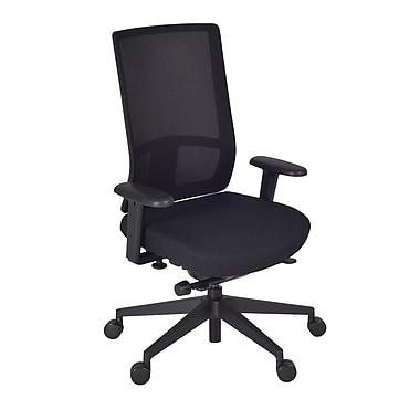 Regency Patriot Swivel Chair, Black/Storm (5555BKSM)
