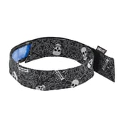 Chill-Its 6705CT Evap. Cooling Bandana  w/CT - H & L, Skulls,  (12579)