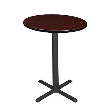 Regency – Table à café ronde Cain de 30 po, acajou (TCB30RNDMH)