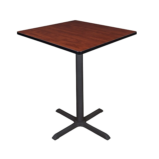 "Regency Cain 36"" Square Cafe Table- Cherry (TCB3636CH)"