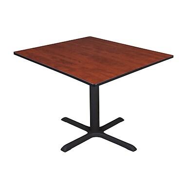 Regency – Table de salle de pause carrée Cain de 48 po, cerisier (TB4848CH)