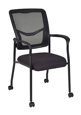 Regency Kiera Side Chair with Casters - Black (5175CBK)