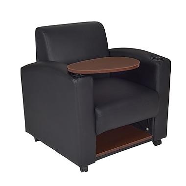 Regency Nova Tablet Arm Chair 2/Pack, Black/Java (7701JVBK2PK)