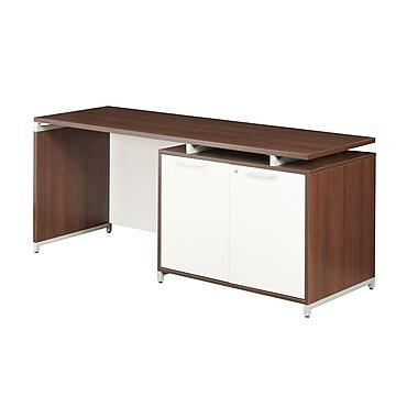 Regency OneDesk Single Storage Cabinet Credenza, Java (ONCSSC7124JV)