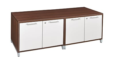 Regency OneDesk Double Storage Cabinet Low Credenza- Java (ONCSSCSC6020JV)