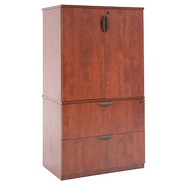 Regency Legacy Lateral File with Stackable Storage Cabinet