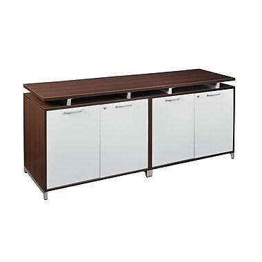 Regency OneDesk Double Storage Cabinet Credenza, Java (ONCSSCSC7124JV)