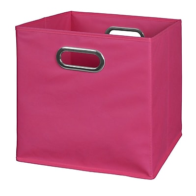 Niche Cubo Foldable Fabric Storage Bin- Pink (HTOTEPK)