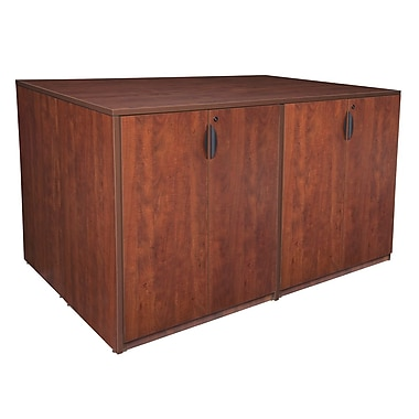 Regency Legacy Stand Up Storage Cabinet Quad, Cherry (LSCQUAD7246CH)
