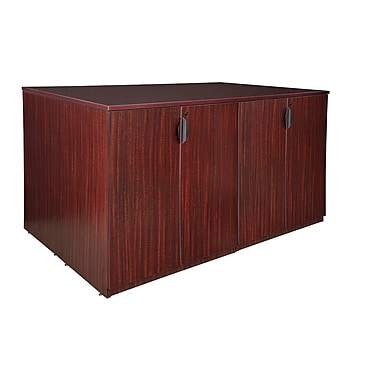 Regency Legacy Stand Up Storage Cabinet Quad, Mahogany (LSCQUAD7246MH)
