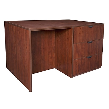 Regency Legacy Stand Up 2 Lateral File/Storage Cabinet/Desk Quad