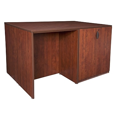 Regency Legacy Stand Up 2 Desk/Storage Cabinet/Lateral File Quad, Cherry (LS2SDSCLF7246CH)
