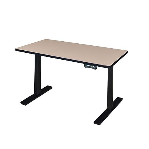"""Regency 42"""" x 24"""" Power Desk- Beige (MAPT4224BE)"""