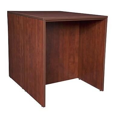 Regency Legacy Stand Up Back to Back Desk/Desk, Cherry (LSSDSD3646CH)