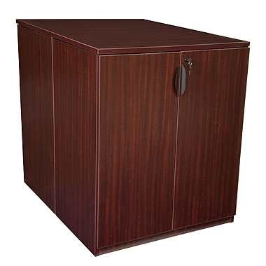 Regency Legacy Stand Up Back to Back Storage Cabinet/Lateral File, Mahogany (LSSCLF3646MH)
