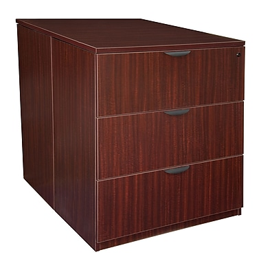 Regency Legacy Stand Up Back to Back Lateral File/Desk, Mahogany (LSLFSD3646MH)