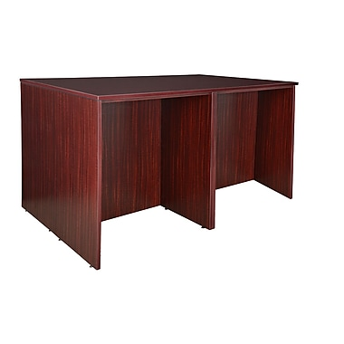 Regency Legacy Stand Up Desk Quad, Mahogany (LSDQUAD7246MH)