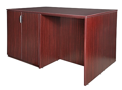Regency Legacy Stand Up 2 Storage Cabinet/ 2 Desk Quad- Mahogany (LS2SC2SD7246MH)