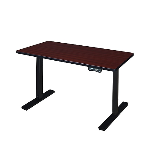 "Regency 42"" x 24"" Power Desk- Mahogany (MAPT4224MH)"