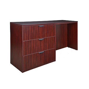 Regency Legacy Stand Up Side to Side Lateral File/Desk, Mahogany (LSLFSD7223MH)