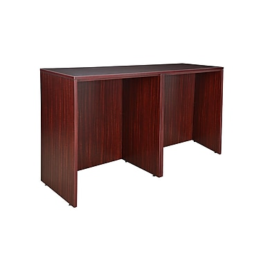 Regency Legacy Stand Up Side to Side Desk/Desk, Mahogany (LSSDSD7223MH)