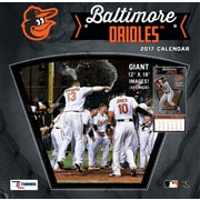 Turner Licensing Baltimore Orioles 2017 12X12 Team Wall Calendar (17998011842)